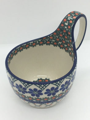 Bowl w/ Loop Handle ~ 16 oz ~ Primrose