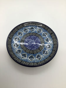 Coaster ~ 4 inch ~ Blue Aztec
