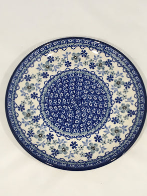 Plate ~ 7.75 inch ~ Cool Blue