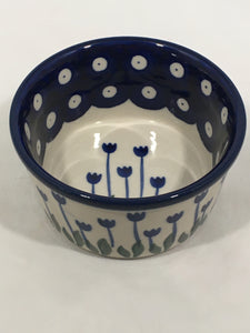 Bowl ~ Ramekin ~ 3.75 inch ~ Bleeding Flower