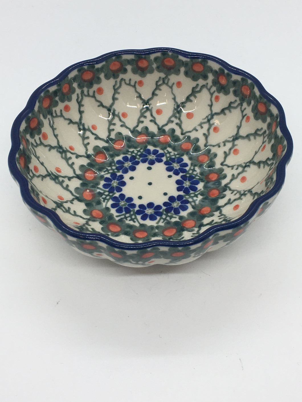 Bowl ~ Scalloped ~ 4.5 inch ~ Primrose