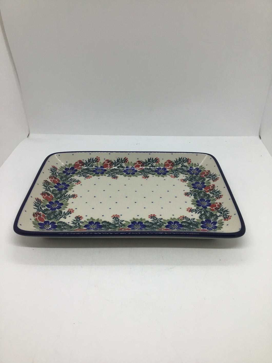 Platter ~ Rectangular ~ 9.5 inch ~ Garden Party