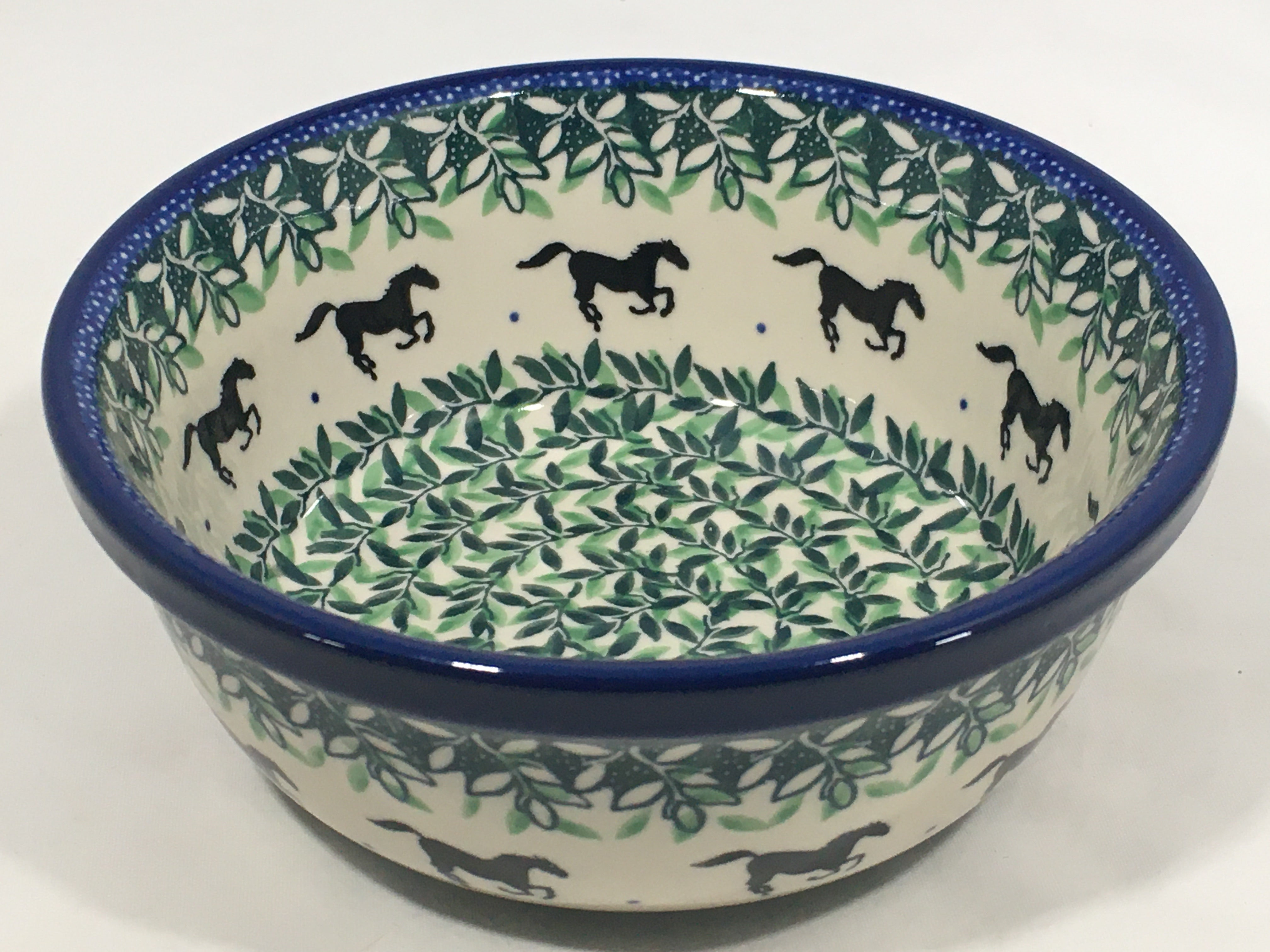 Bowl ~ Soup / Salad / Cereal ~ 6W ~ Running Horse