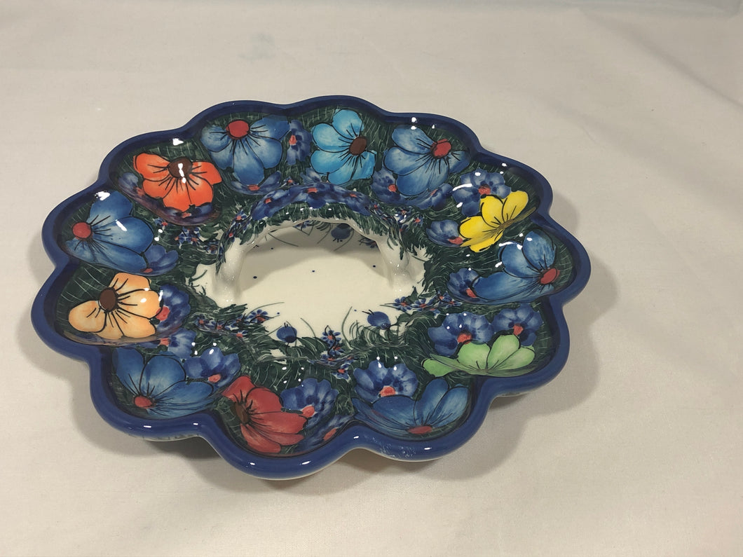 Egg Tray- Art Blue Floral