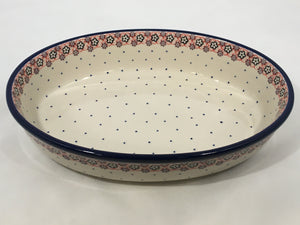 Baker Oval ~ 10.5 inch ~ Berry