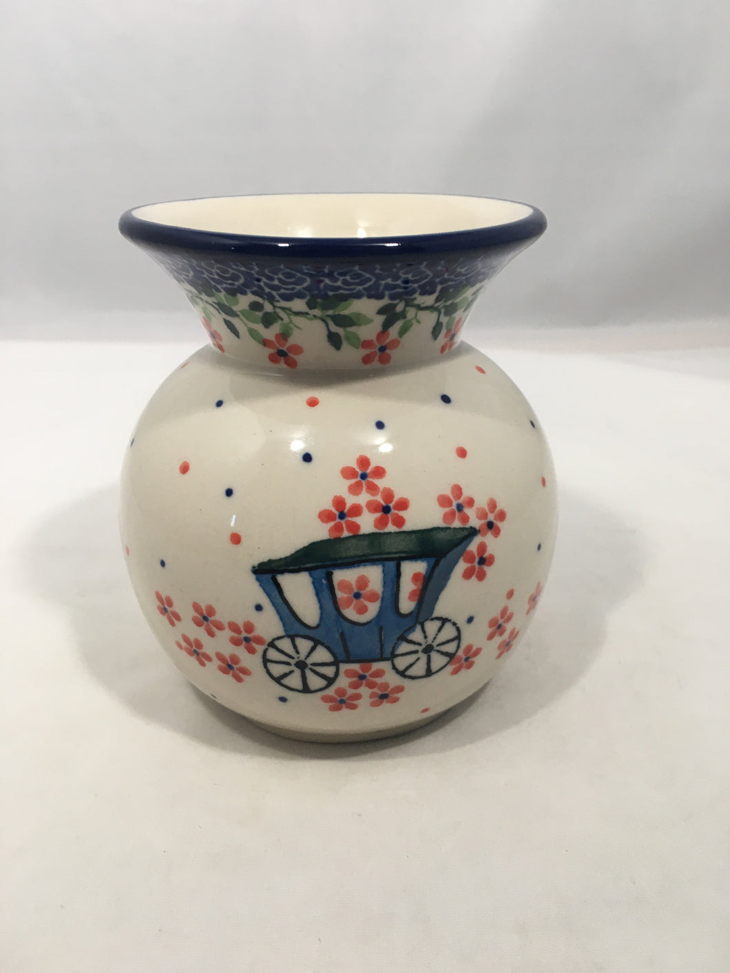 Vase ~ Bubble ~ 4.25 inch ~ Carriage
