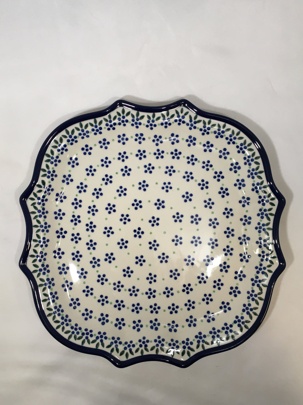 Serpentine Tray ~ 10.5 inch ~ Dotty Dot