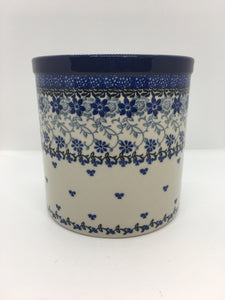 Utensil Holder ~ 5.5 inch ~ Amazing Lace