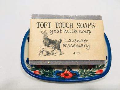 Lavender Rosemary Goat Milk Soap