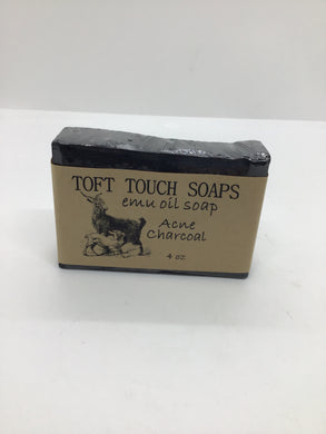 Charcoal Acne Milk Soap