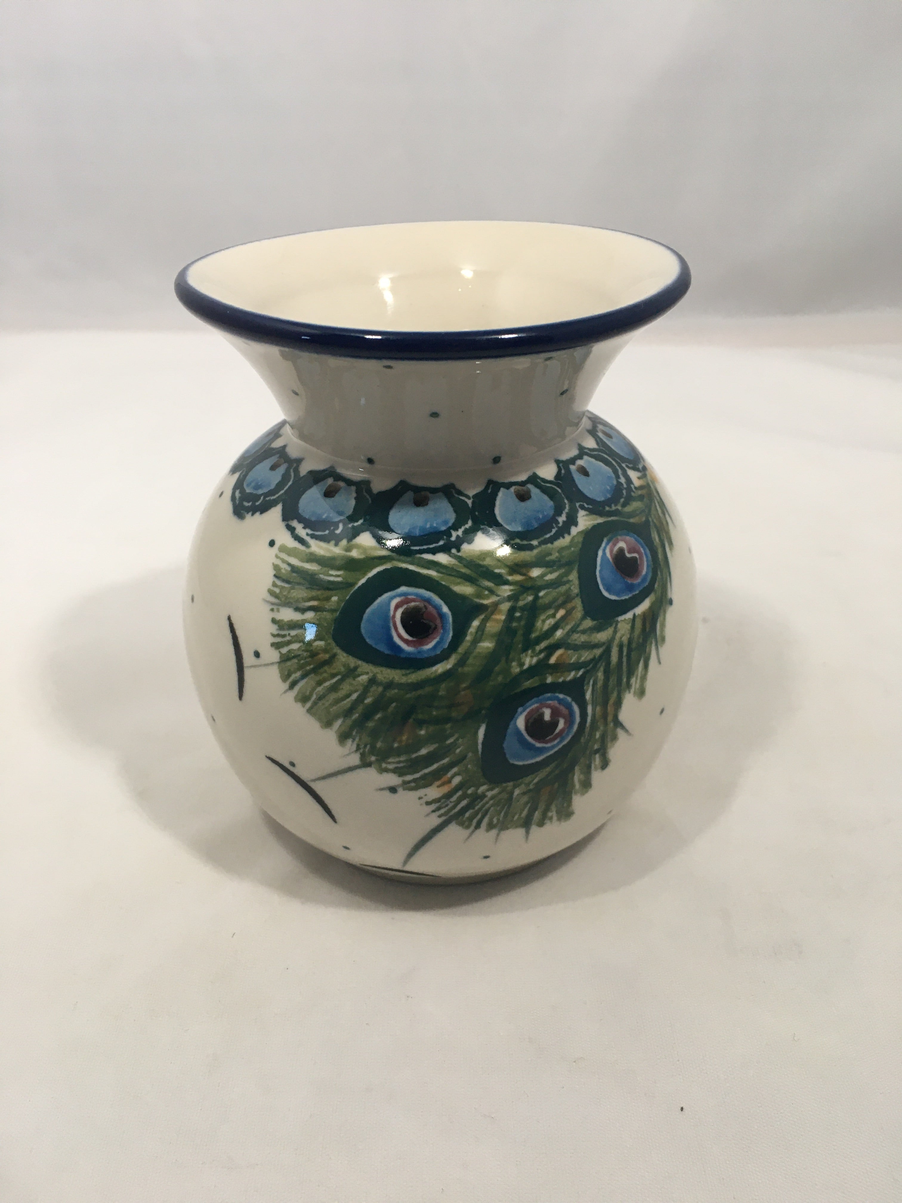 Vase ~ Bubble ~ 4.25 inch ~ Art of the Feather