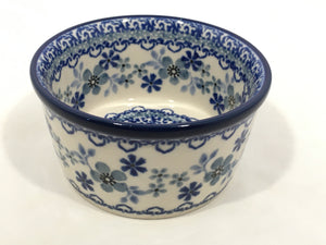 Bowl ~ Ramekin ~ 3.75 inch ~ Cool Blue