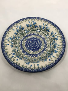Bowl ~ Salad / Pasta ~ 9 inch ~ Blue Bell