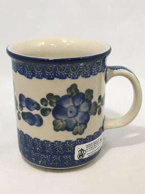 Mug ~ Straight Side ~ 8 oz ~ Blue Poppy