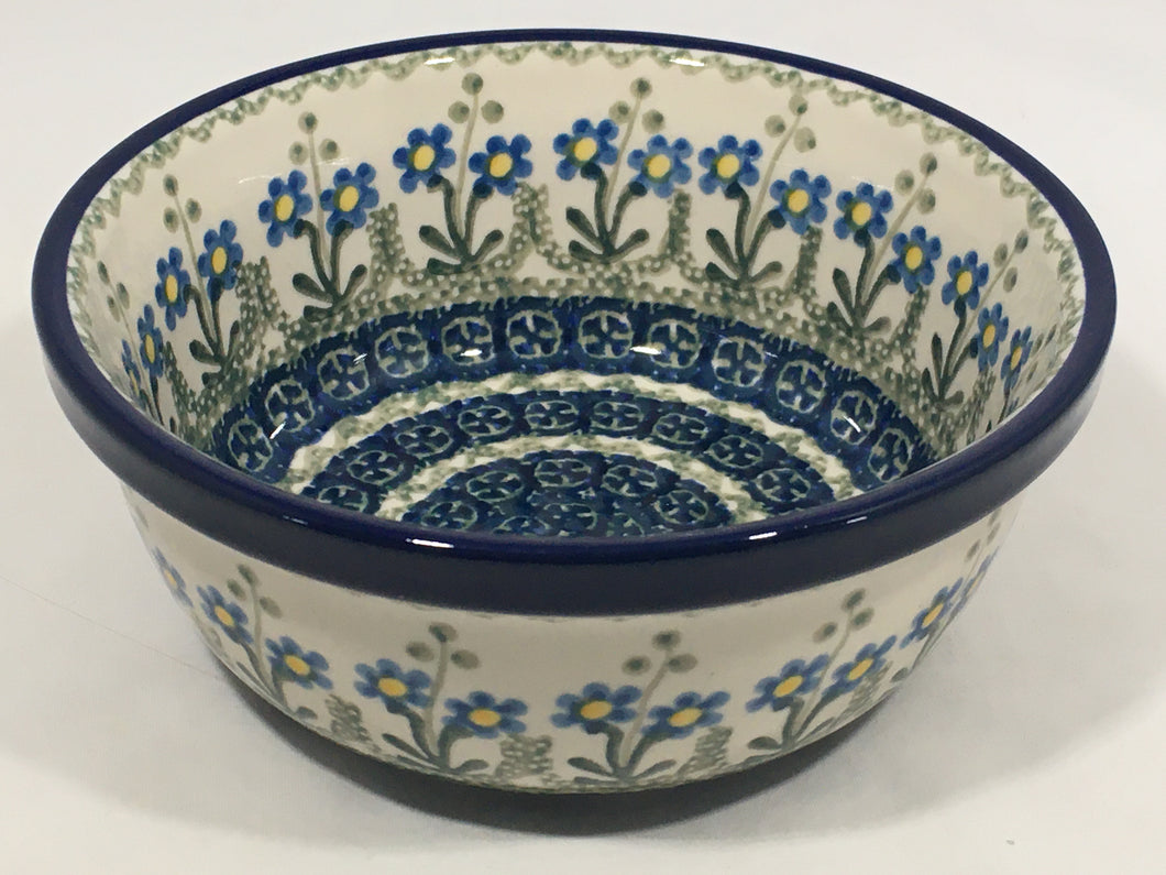 Bowl ~ Soup / Salad / Cereal ~ 6W ~ Blue Spring Daisy