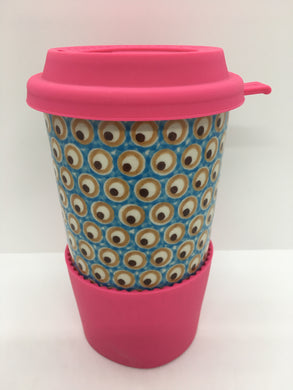 A281 Travel Mug  Turquoise Eye