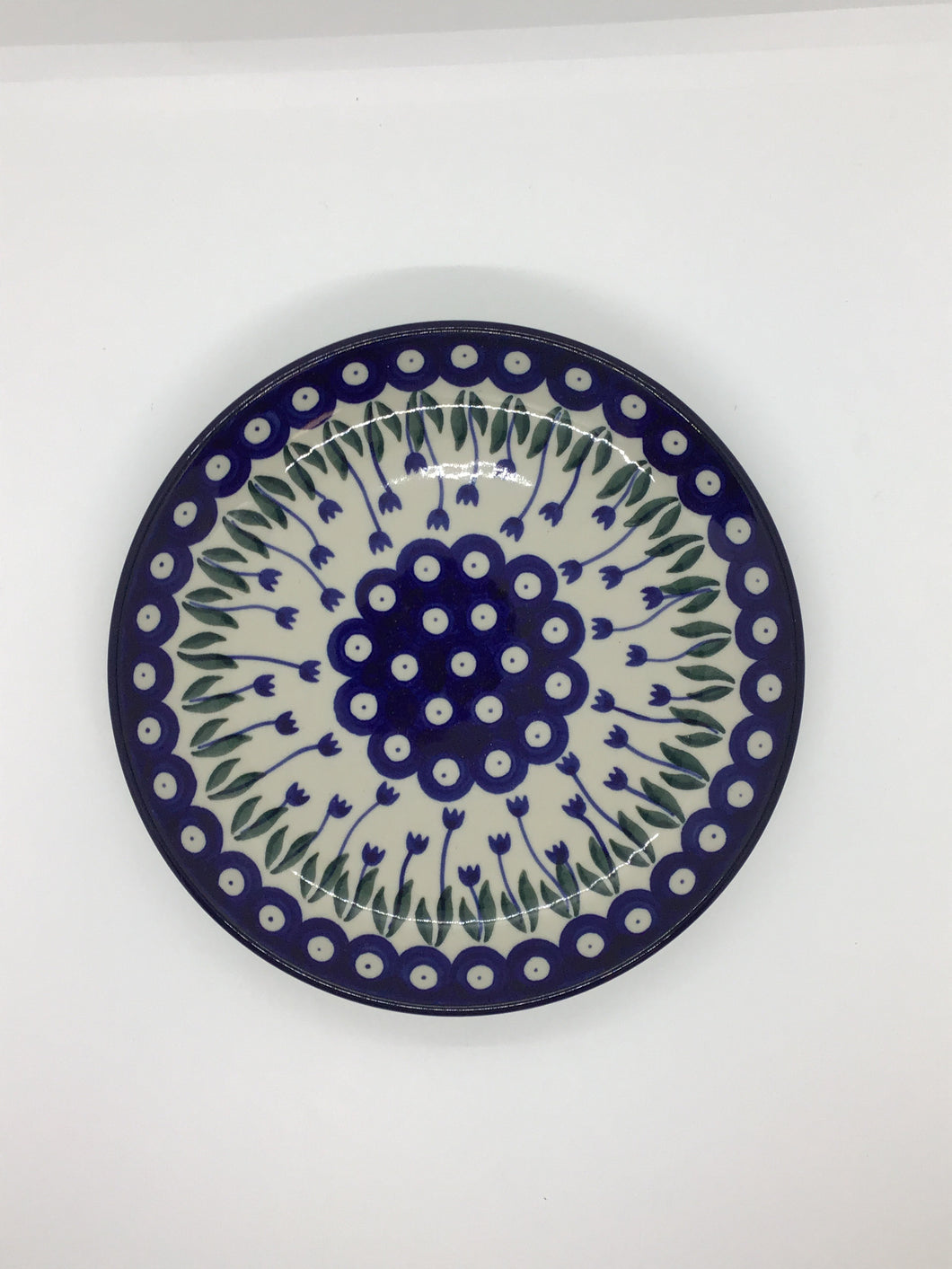 Plate ~ 7.75 inch ~ Bleeding Flower