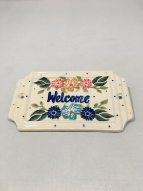 Welcome Sign Wreath