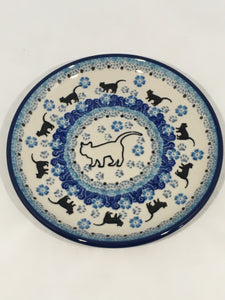 Plate ~ Bread & Butter ~ 6.25 inch ~ White Cat