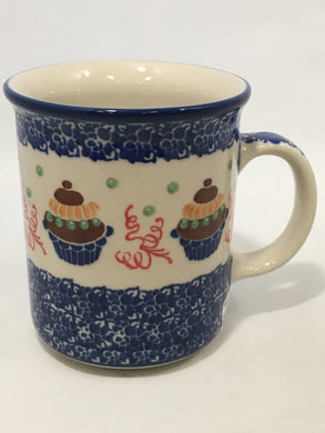 Mug ~ Straight Side ~ 8 oz ~ Cupcake