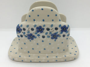 Napkin Holder ~ 4.75 x 6.75L ~ Blue Violet