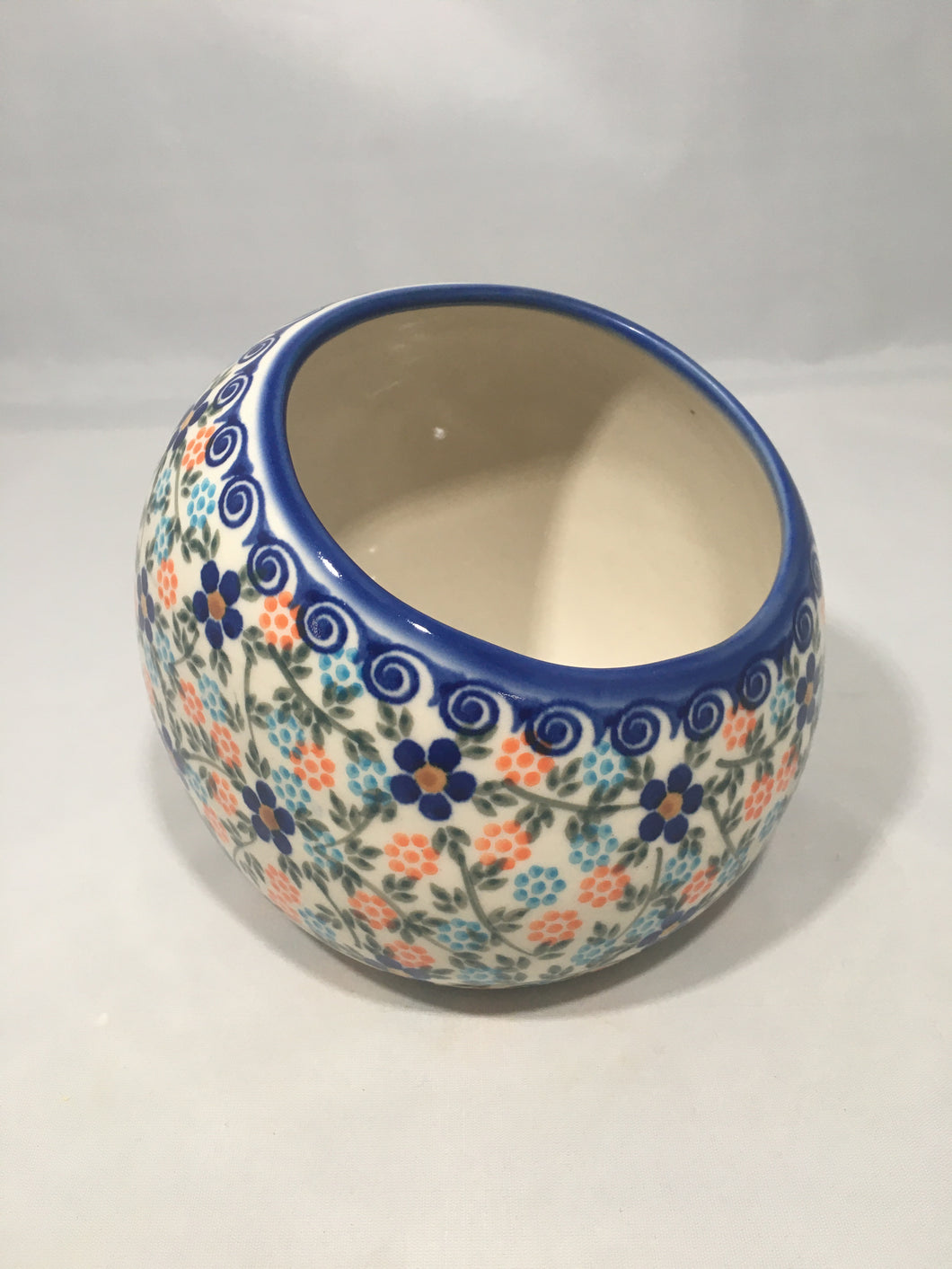 Open Storage Bowl- Spring Floral