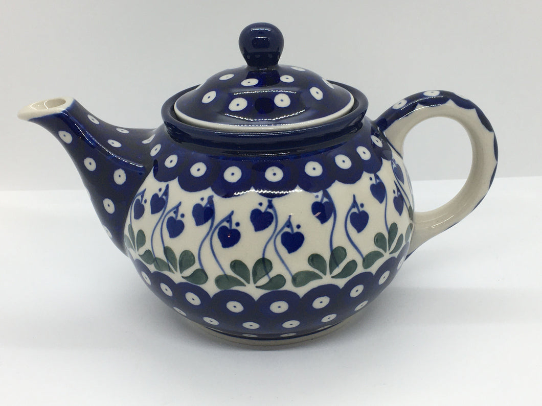 Teapot (1 qt) ~ Bleeding Heart