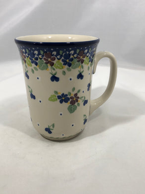 Mug ~ Bistro ~ 16 oz. ~ Purple Pansy