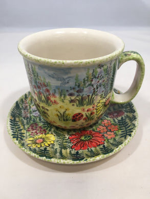 9120 Malwa Teacup and Saucer Valley of Silence