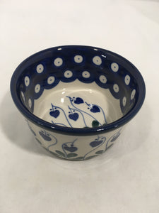 Bowl ~ Ramekin ~ 3.75 inch ~ Bleeding Heart