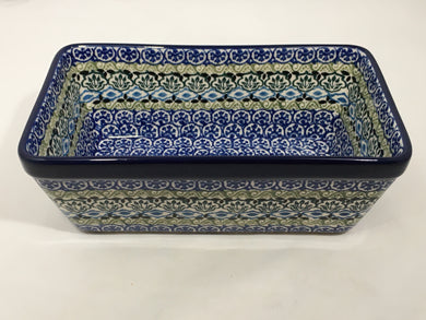 Baker ~ Loaf Pan ~ 7.75w X 8L ~ Tranquility