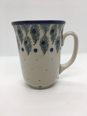 Mug ~ Bistro ~ 16 oz. ~ Eye of Feather