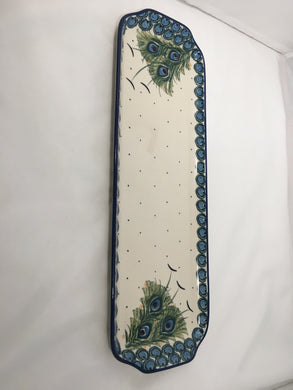 Tray ~ 5.5 x 16-1/2 inch ~ Art of the Feather