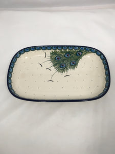 Tray ~ Shallow Rectangular ~ Small ~ Art of the Feather