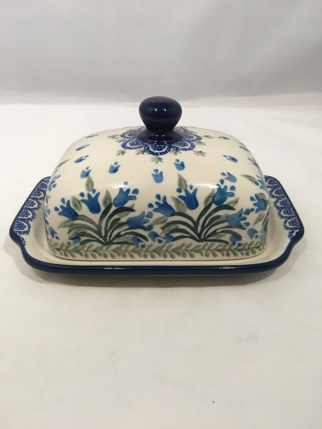 Butter/Cream Cheese Dish ~ Blue Bell