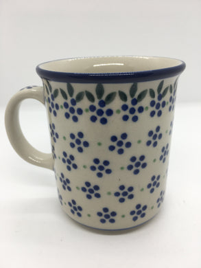 Mug ~ Straight Side ~ 8 oz ~ Dotty Dot