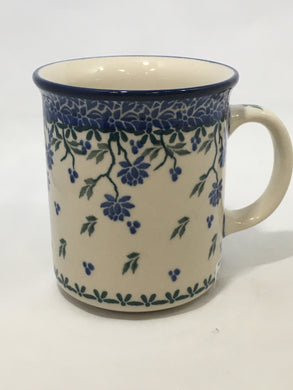 Mug ~ Straight Side ~ 8 oz ~ Prairie Flower