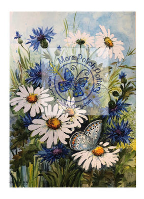 Teresa Liana Daisy Numbered Watercolor Print