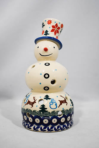 Snowmen Tea Light Holder - Reindeer