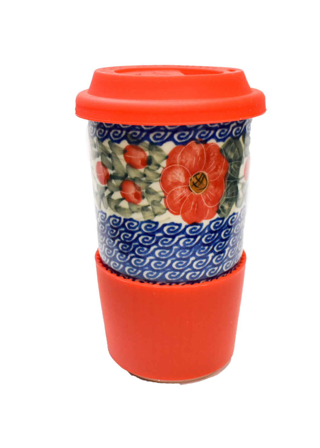 To Go Mug Red Poppy