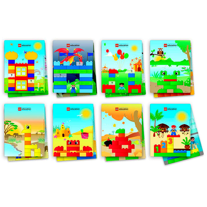 45080 Tarjetas Creativas DUPLO LEGO Education Edacom