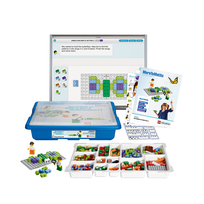 Set Base MoreToMath (45210) LEGO® Education | Edacom