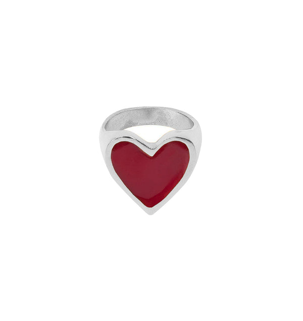 Anillo I Heart You Plata