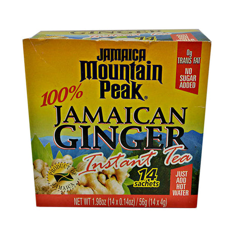 Jamaican ginger instant tea