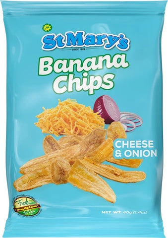 St Mary Cheese and Onion Chips