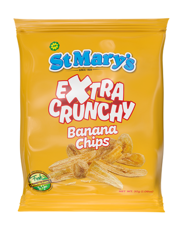 Extra Crunchy St Mary Banana Chips