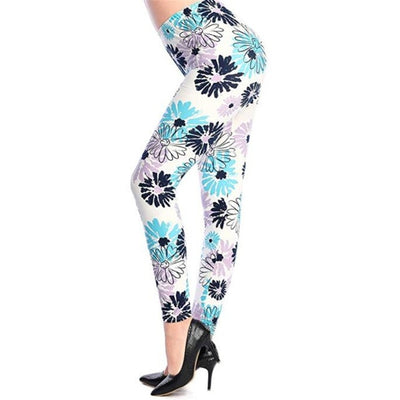 Camouflage Printing Elasticity Leggings - Best Fitness Wears