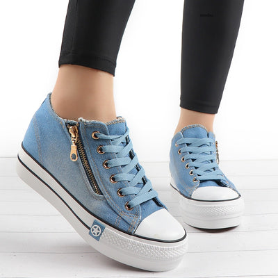 Casual Canvas Sneakers Shoes - Best Fitness Wears