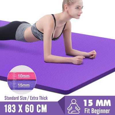 Non-slip Yoga Mats - Best Fitness Wears