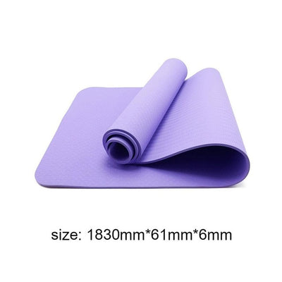 Winter Non-slip Yoga Mats - Best Fitness Wears
